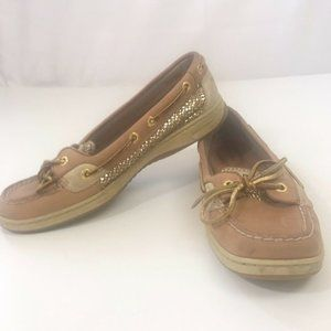 Sperry Top-Sider Angelfish Leather Boat Shoes, 8